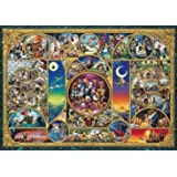 Tenyo Japan Jigsaw Puzzle D-1000-383 Disney All Characters (1000 Pieces) (japan import