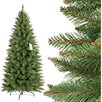 FairyTrees künstlicher Weihnachtsbaum Premium Tannenbaum Chrisbaum künstlich Kunstbaum künstliche Weihnachtsbäume *RIESENAUSWAHL*