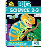 School Zone - Big Science Workbook - Ages 7 to 9, 2nd Grade, 3rd Grade, Weather, Seeds, Plants, Insects, Mammals, Ocean Life,