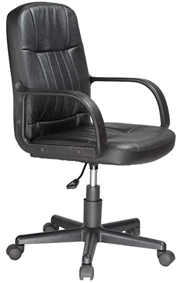 leather office chair amazon. perfect amazon comfort products 605607m midback leather office chair black to chair amazon l