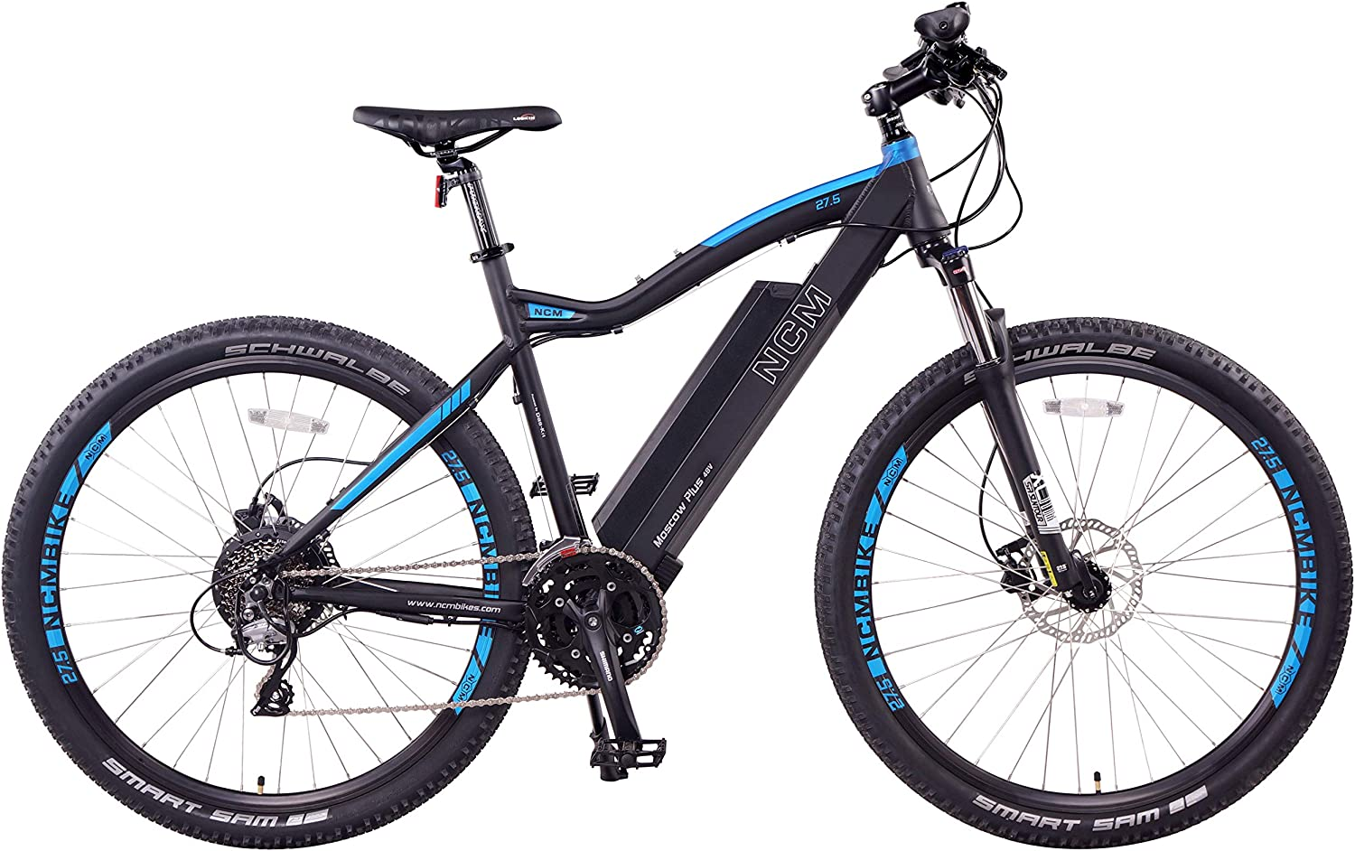 NCM Moscow Plus Electric Mountain Bike 768 Wh 48V 16AH