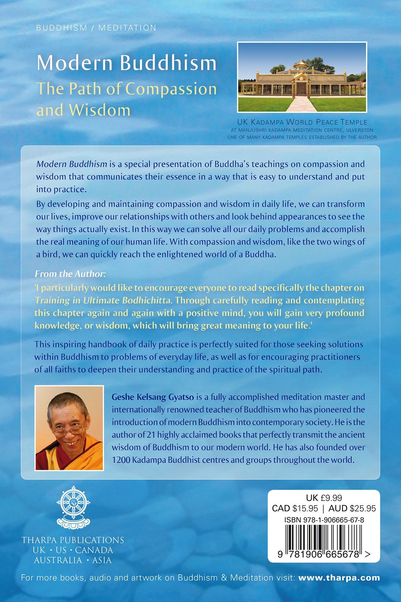 Modern Buddhism: The Path Ofpassion And Wisdom: Geshe Kelsang Gyatso:  9781906665081: Amazon: Books