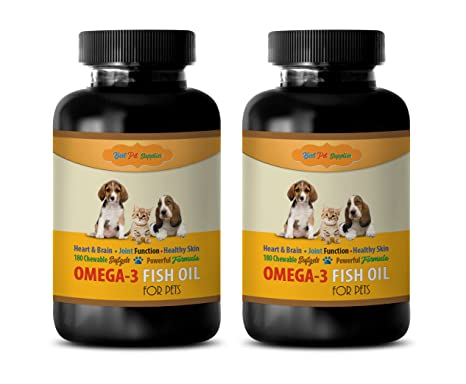 Amazon Com Dog Cognitive Supplements Pet Omega 3 For Dogs And