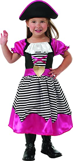 Rubies Pink Pirate Costume, Medium