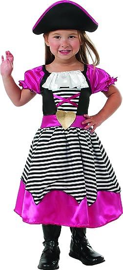 Rubies Pink Pirate Costume, Medium