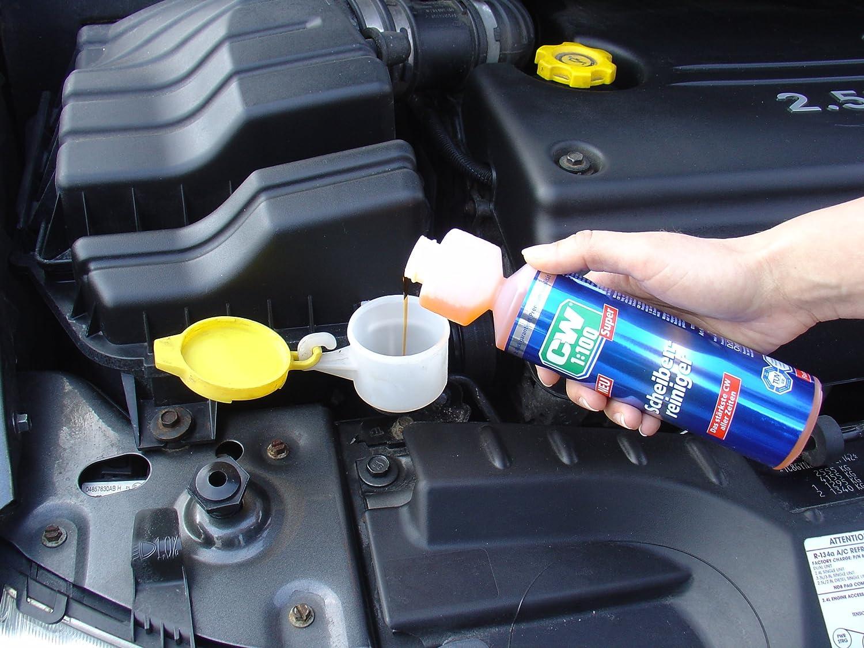 Dr. Wack 1745 CW 1:100 Super - Jabón para sistema de limpiacristales de vehículo (250 ml): Amazon.es: Coche y moto