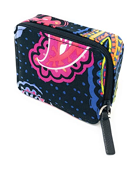 Vera Bradley Vera Bradley Travel Pill Case in Twilight Paisley with Solid  Pink Lining 971033f27302a