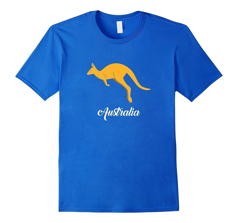 Australia Kangaroo Australian Souvenir Momento T-shirt-AZP