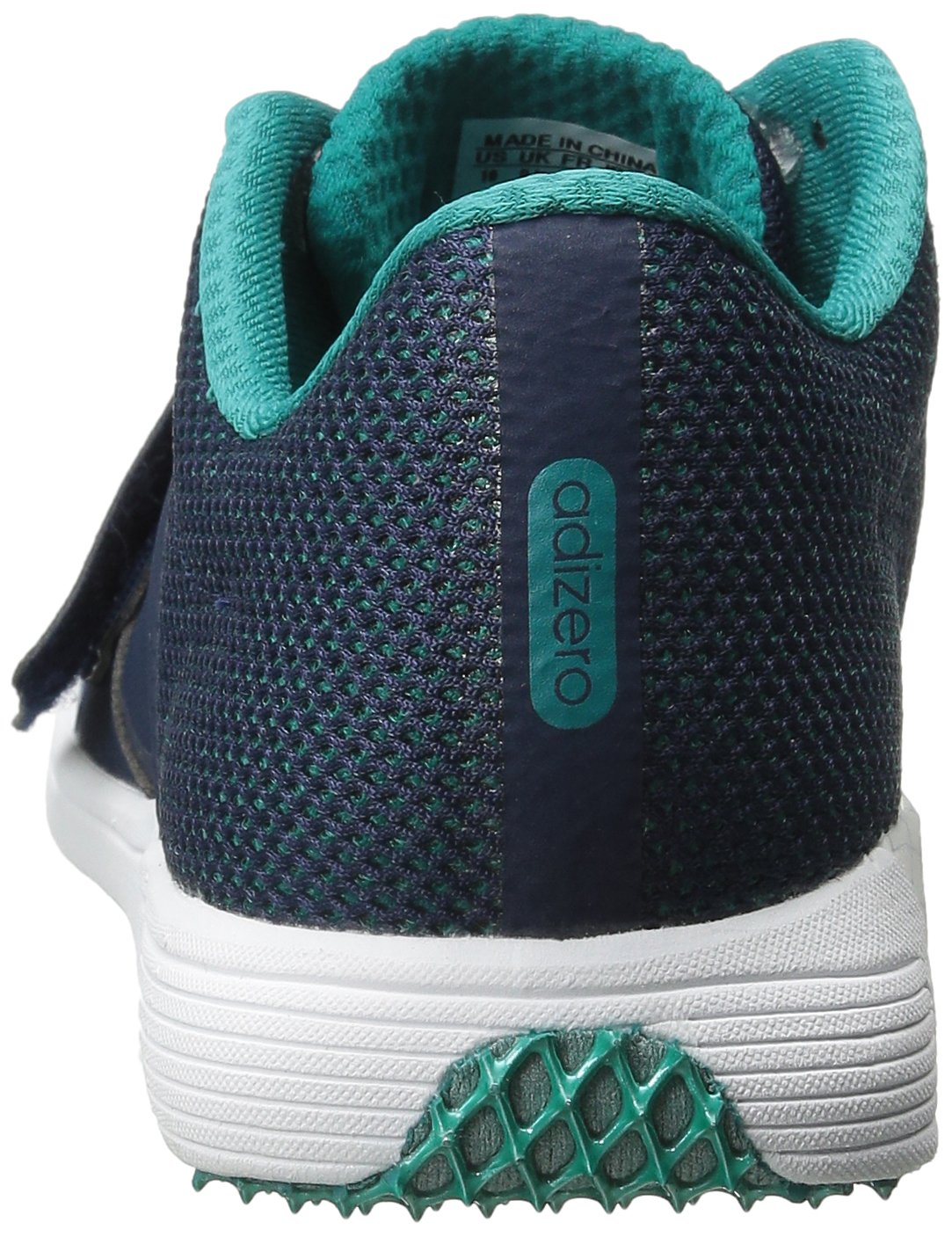 adidas Performance Women's Adizero TJ/PV Running Shoe with Spikes,Collegiate Navy/White/Green,14 M US by adidas (Image #2)