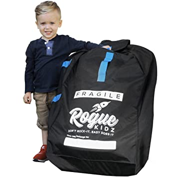 Rogue Kidz Car Seat Travel Bag For Airplane Gate Check