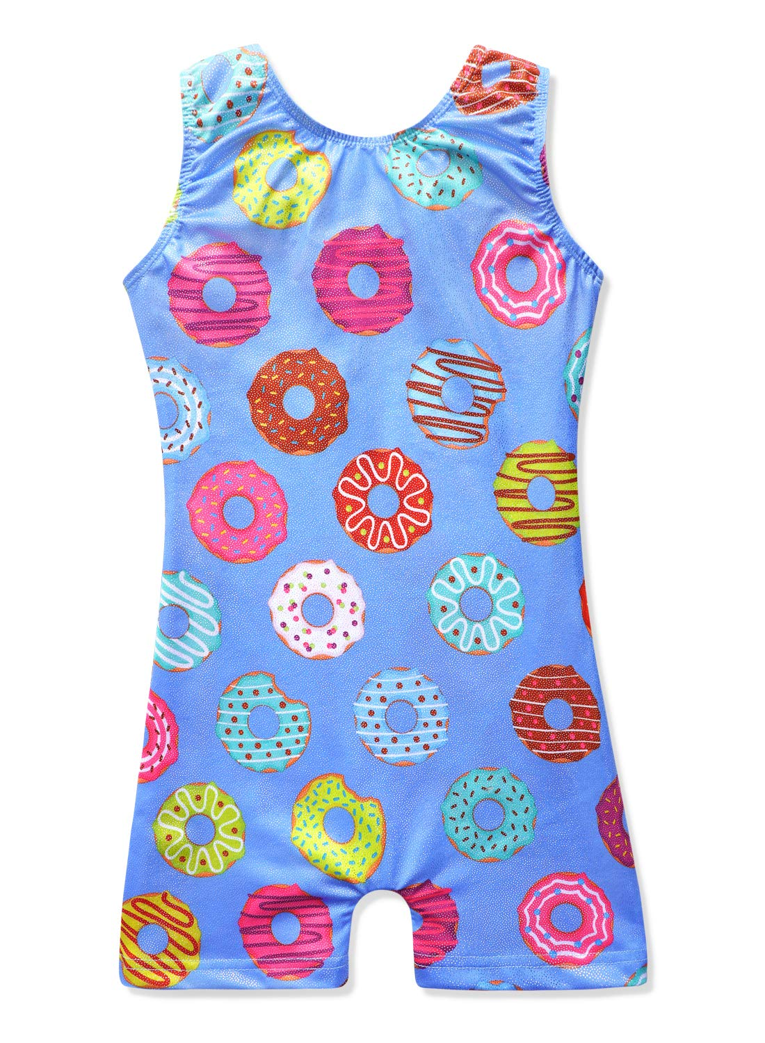 Gymnastics Leotards for Girls 3t 4t doughnut donuts doughnuts donut purple by HOZIY