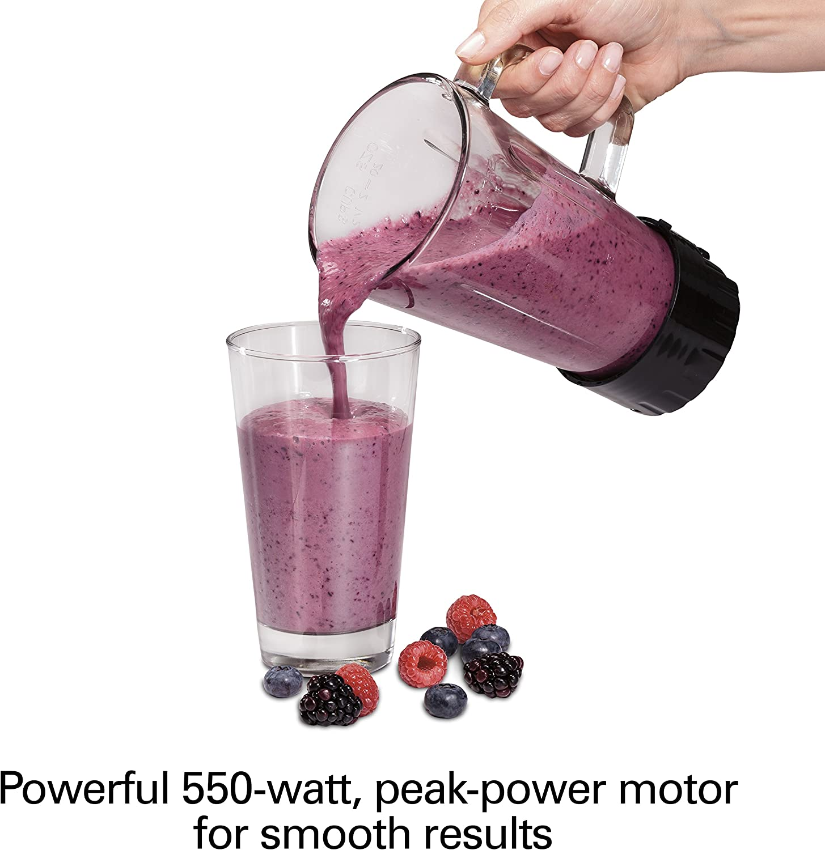 Proctor Silex licuadora compacta, tarro de 20 oz, 550 vatios ...