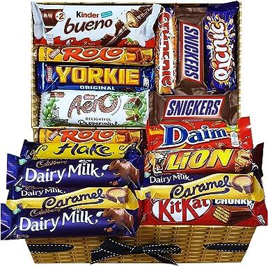 Mega Chocolate Lovers Gift Hamper Caja de selección de chocolate para todos: Amazon.es: Alimentación y bebidas