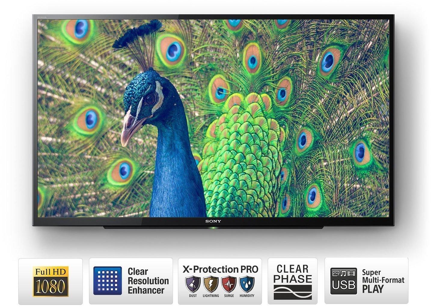 Best 40 inch LED TVs in India under 40,000 - Sony Bravia KLV-40R352E Full HD LED TV