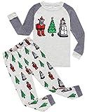 Amazon Price History for:Boys Christmas Pajamas Little Kids Pjs Sets 100% Cotton Sleepwears Toddler Clothes