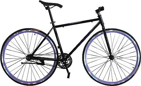 Helliot Bikes Fixie Nolita 50 Bicicleta Urbana, Hombre, Negro, Talla ...