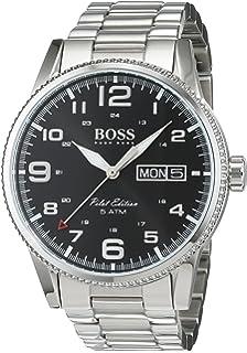 f29de728c0b0 HUGO BOSS Men s Chronograph Quartz Watch with Stainless Steel ...
