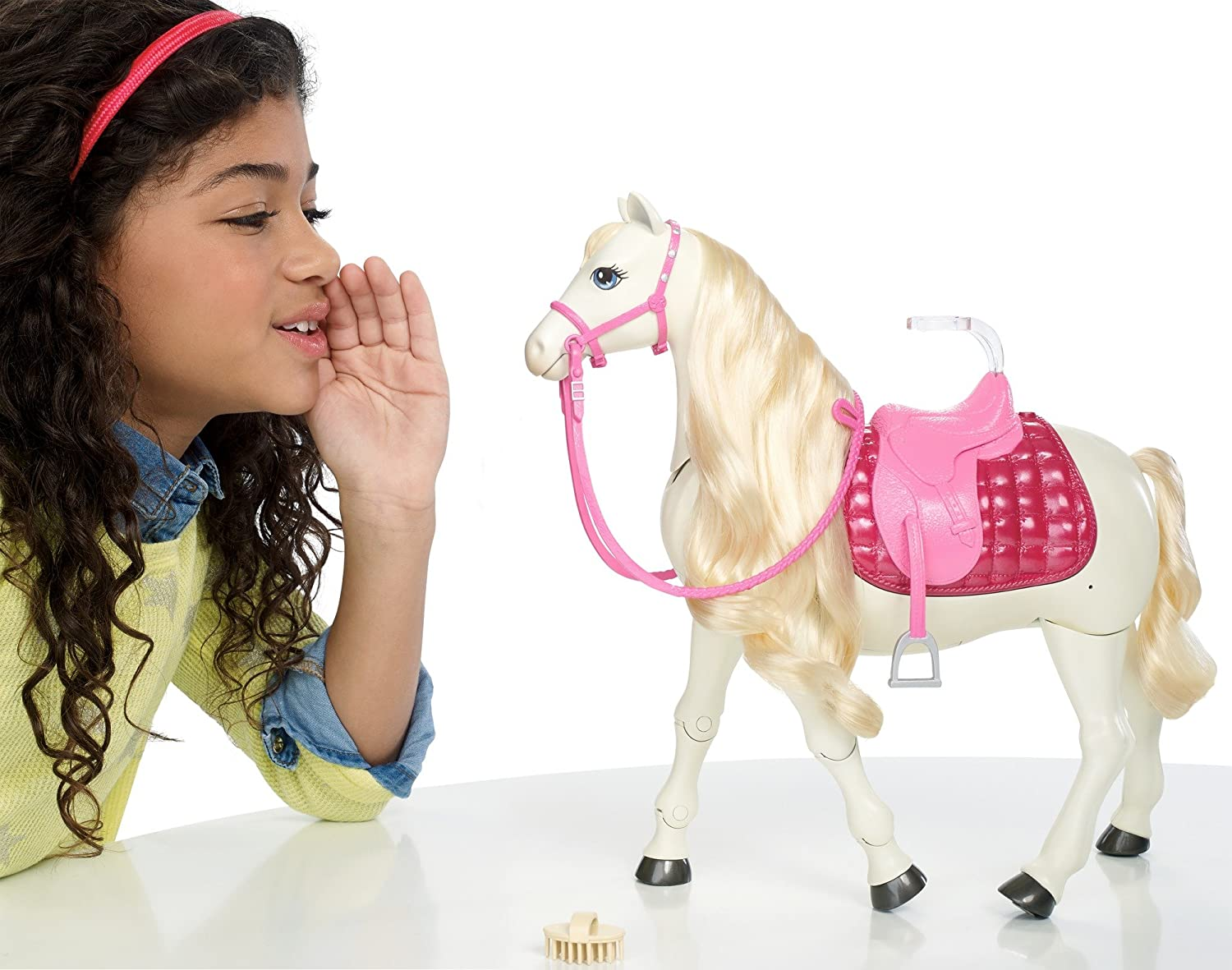 New in Damaged Package Barbie Sisters Moments Riding Lesson Horse /& 2 Dolls