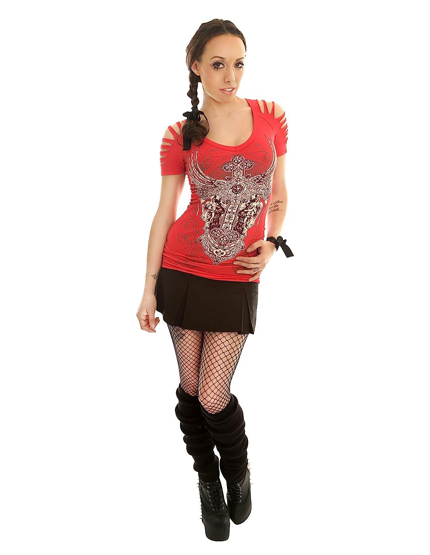 f7556953e2 Amazon.com: Folter TEACHERS PET Pleated Plaid MICRO MINI SKIRT- In Choice  of Colors: Clothing