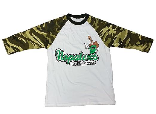 9895eb9cb Amazon.com  Mexican Baseball Team Nopaleros de Zacatecas T-Shirt ...