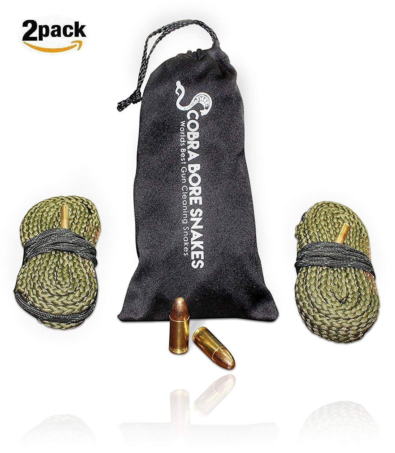 Cobra Barrel Cleaning Snake For .380 Caliber Pistols Bore Snakes Makes It Easy To Clean Your 380 Automatic Weapon