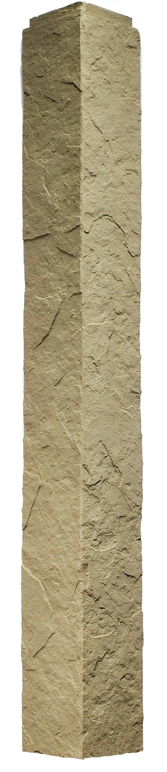 NextStone Sandstone 4 Foot Outside Corner Buff 2 Pack