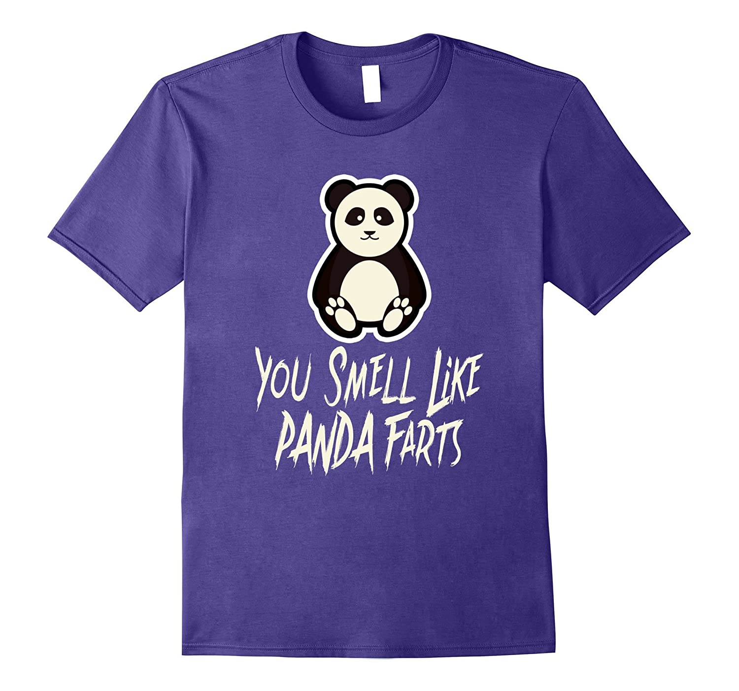 You Smell Like Panda Farts Cute Animal Bear Funny T-Shirt-ANZ