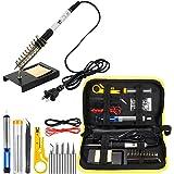 WaVes soldadores de estaño, soldador electrico 220V 60W, Temperatura Ajustable,5pcs Puntas,