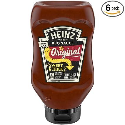 Amazon Com Heinz Sweet Thick Classic Style Bbq Sauce 21 4 Oz