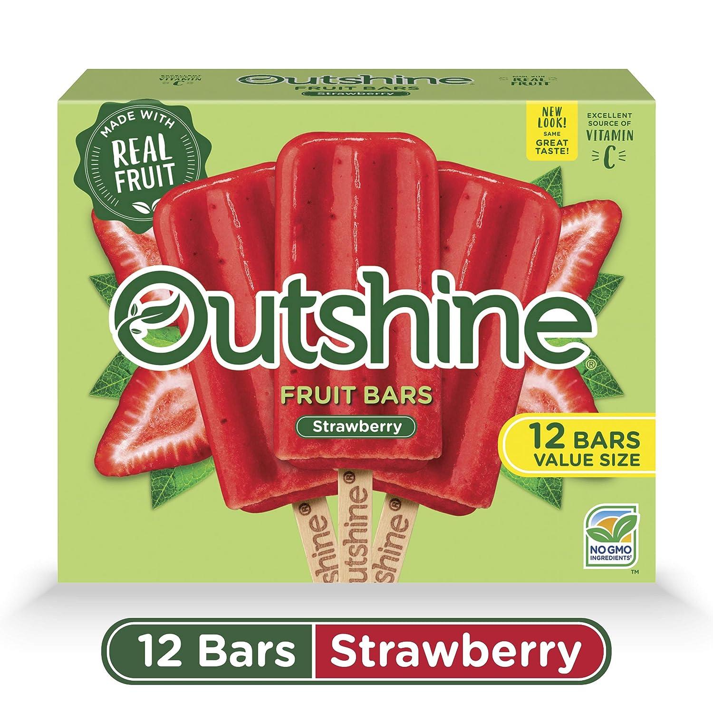 Outshine, Strawberry Frozen Fruit Bars, 12 Count (Frozen)