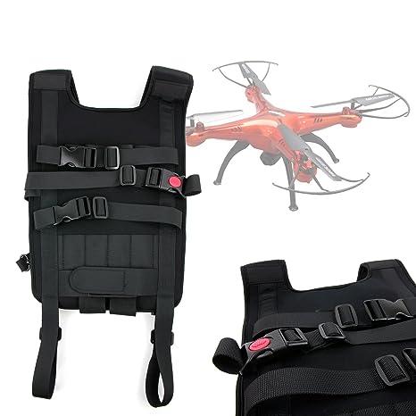 DURAGADGET Mochila/Arnés Ajustable para tranporte de Quadcopter ...