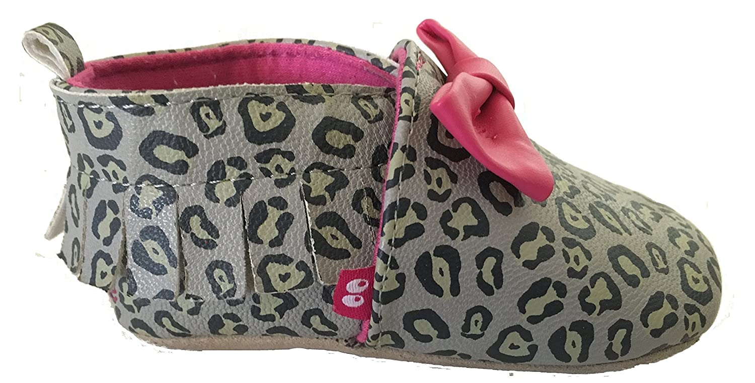 Amazon.com: Stride Rite Girls Leopard Print Moccasin 12 - 18 months: Baby