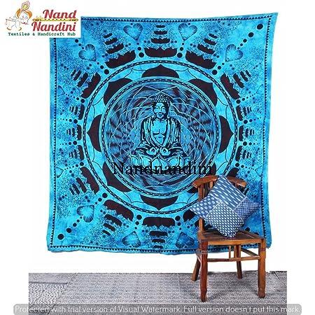 nandnandini textil - tapiz Celestial Señor Budha Chakra ...
