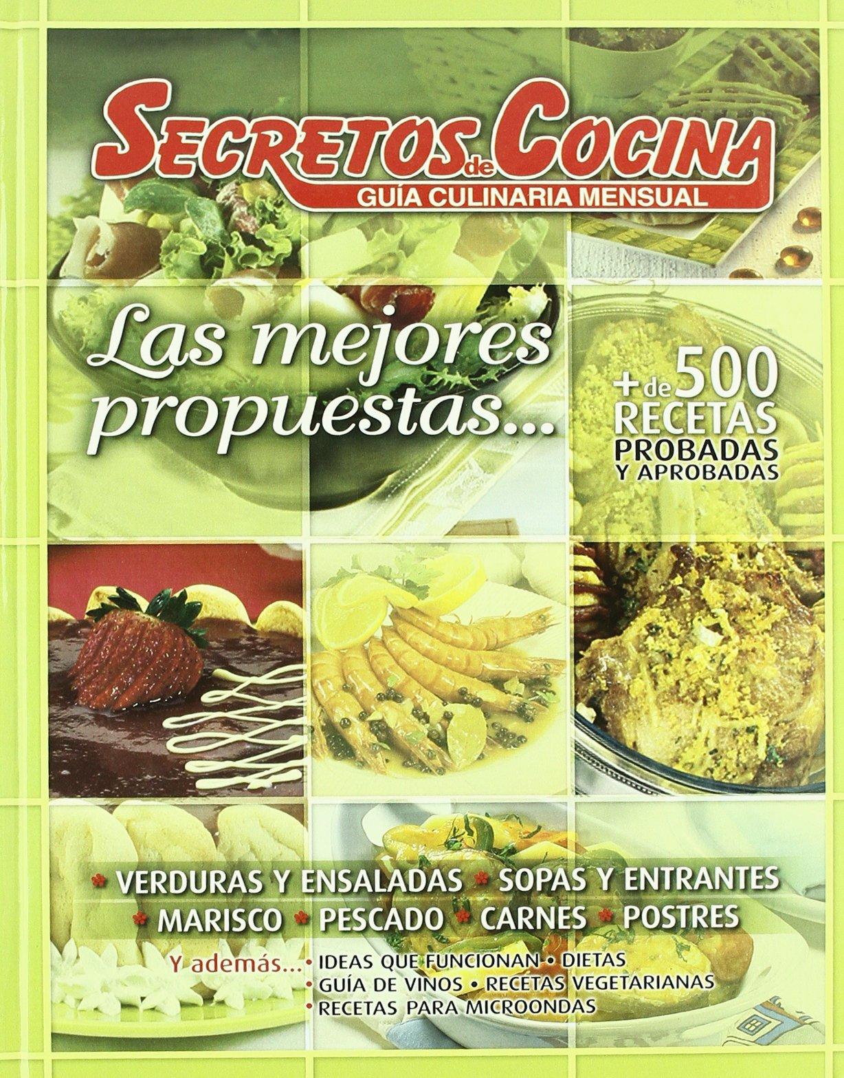 MEJORES PROPUESTAS - SECRETOS DE COCINA V.I ENCUADERNADOS ...