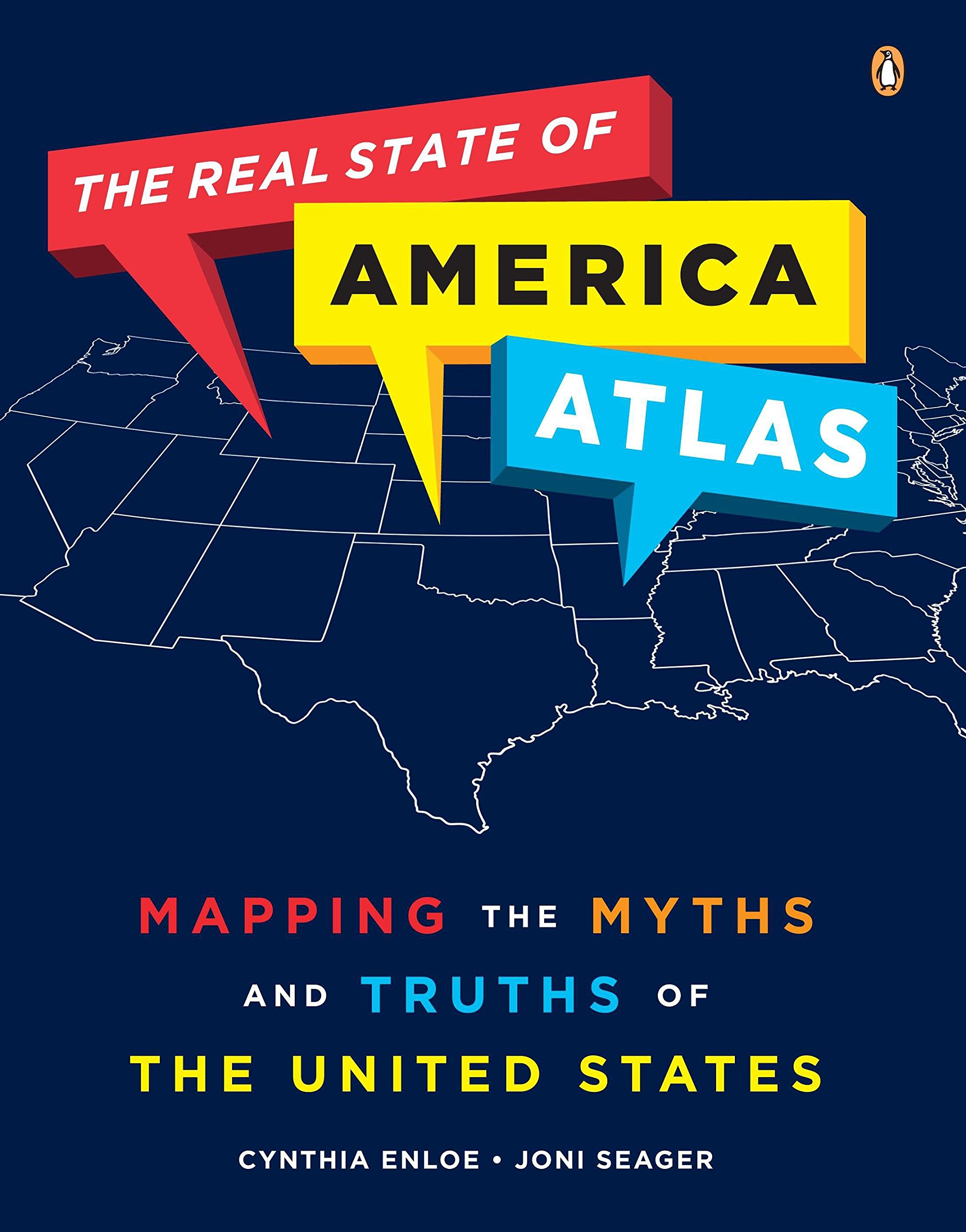 Download The Real State of America Atlas: Mapping the Myths and Truths of the United States pdf