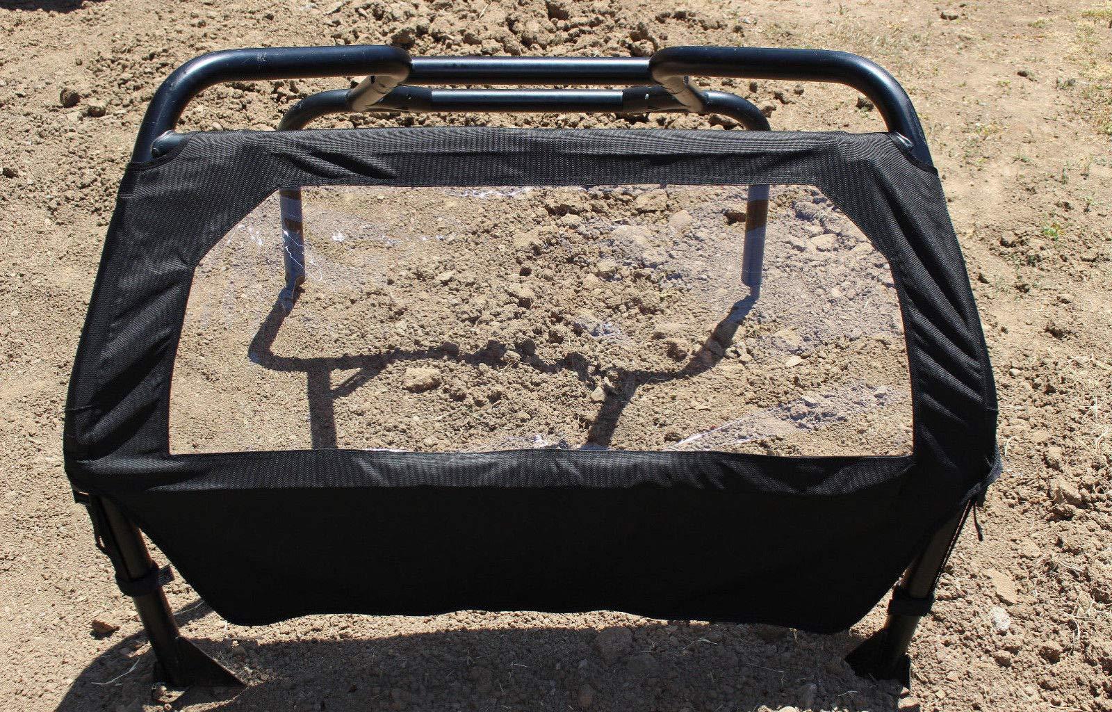 Dirt Specialties New Polaris RZR 800, 800S XP900, XP4 900 570 Rear Window/Cover 2008-17 by Dirt Specialties (Image #5)
