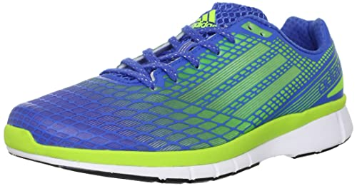 finest selection 653c0 d991a Adidas Mens Adizero Feather 3 M Blue, Green and White Mesh Running Shoes -  10