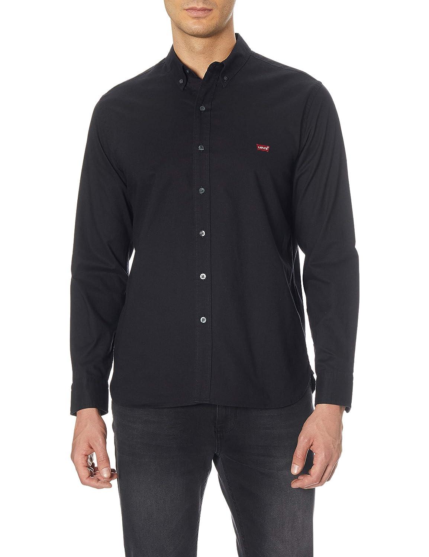 TALLA L. Levi's LS Battery Hm Shirt Camisa para Hombre
