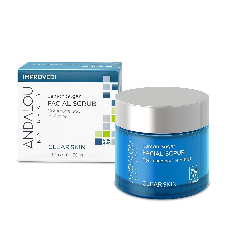 Andalou Naturals Lemon Sugar Facial Scrub, 1.7 Oz 43749
