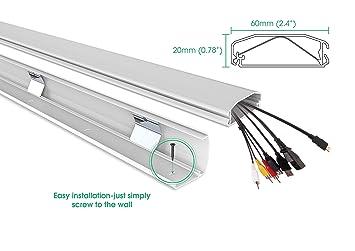 Amazon.com : Jestik Cable Management - Cable Organizer, Cord ...