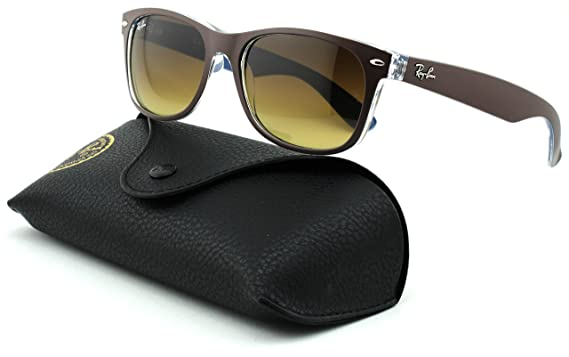 6c91dd463e Image Unavailable. Image not available for. Color  Ray-Ban RB2132 New Wayfarer  Gradient Unisex Sunglasses ...