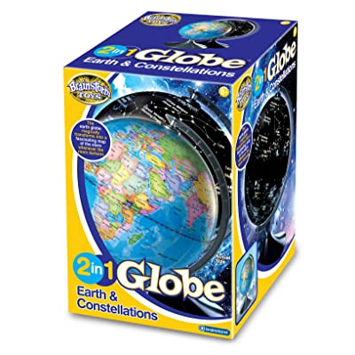 Brag Illuminated Globe - Earth and Star Constellations: Toys & Games