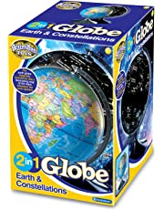 Brainstorm Toys E2001 2 in 1 Globe Earth and Constellations