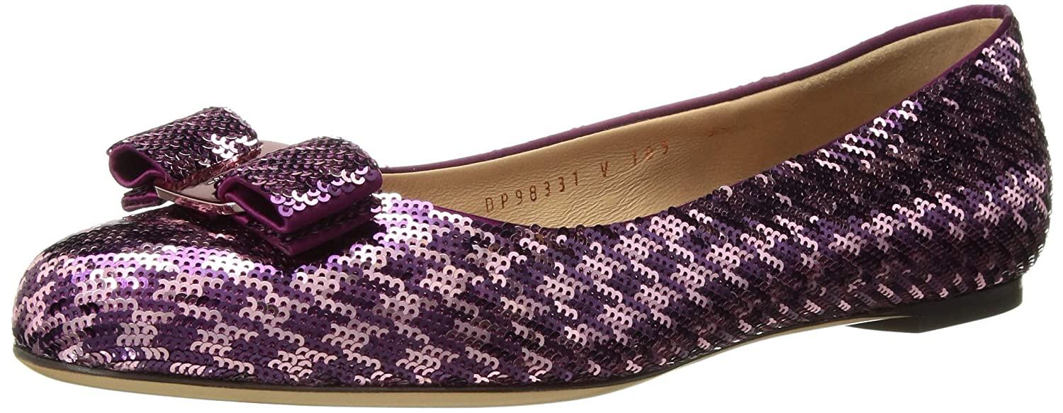 832bf3108479 Amazon.com  Salvatore Ferragamo Women s Varina Ballet Flats  Shoes