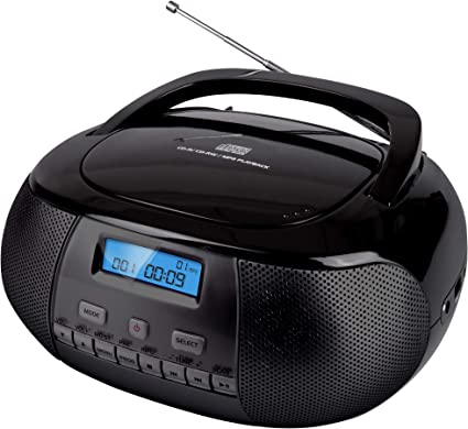 Nikkei Nprd58bk Tragbarer Dab Radio Cd Player Elektronik