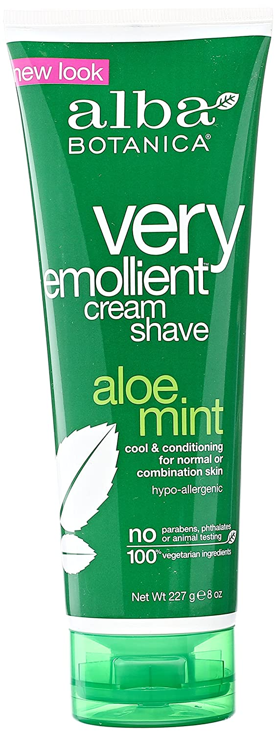 Alba Botanica Aloe Mint Very Emollient Cream Shave, 8 Ounce thomaswi