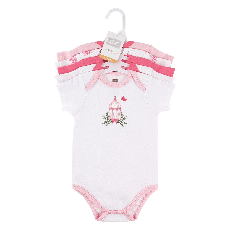 4e5817b7ea9 Amazon.com  Hudson Baby Short Sleeve Bodysuits