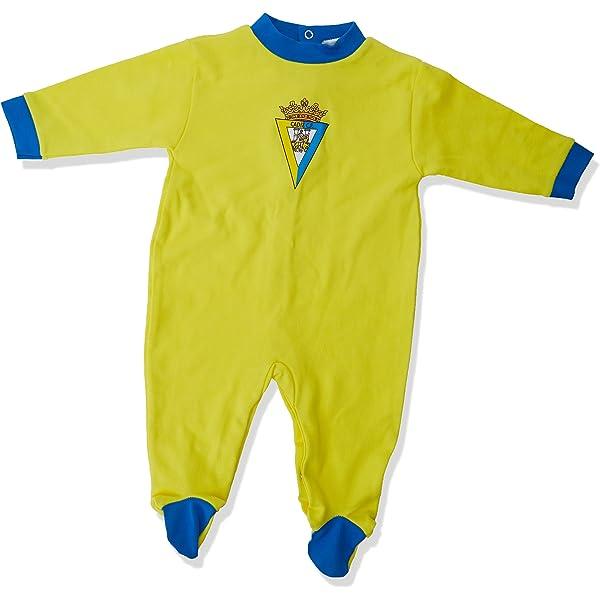 Cádiz CF Pijcad Pijama Larga, Bebé-Niños, Multicolor (Amarillo ...
