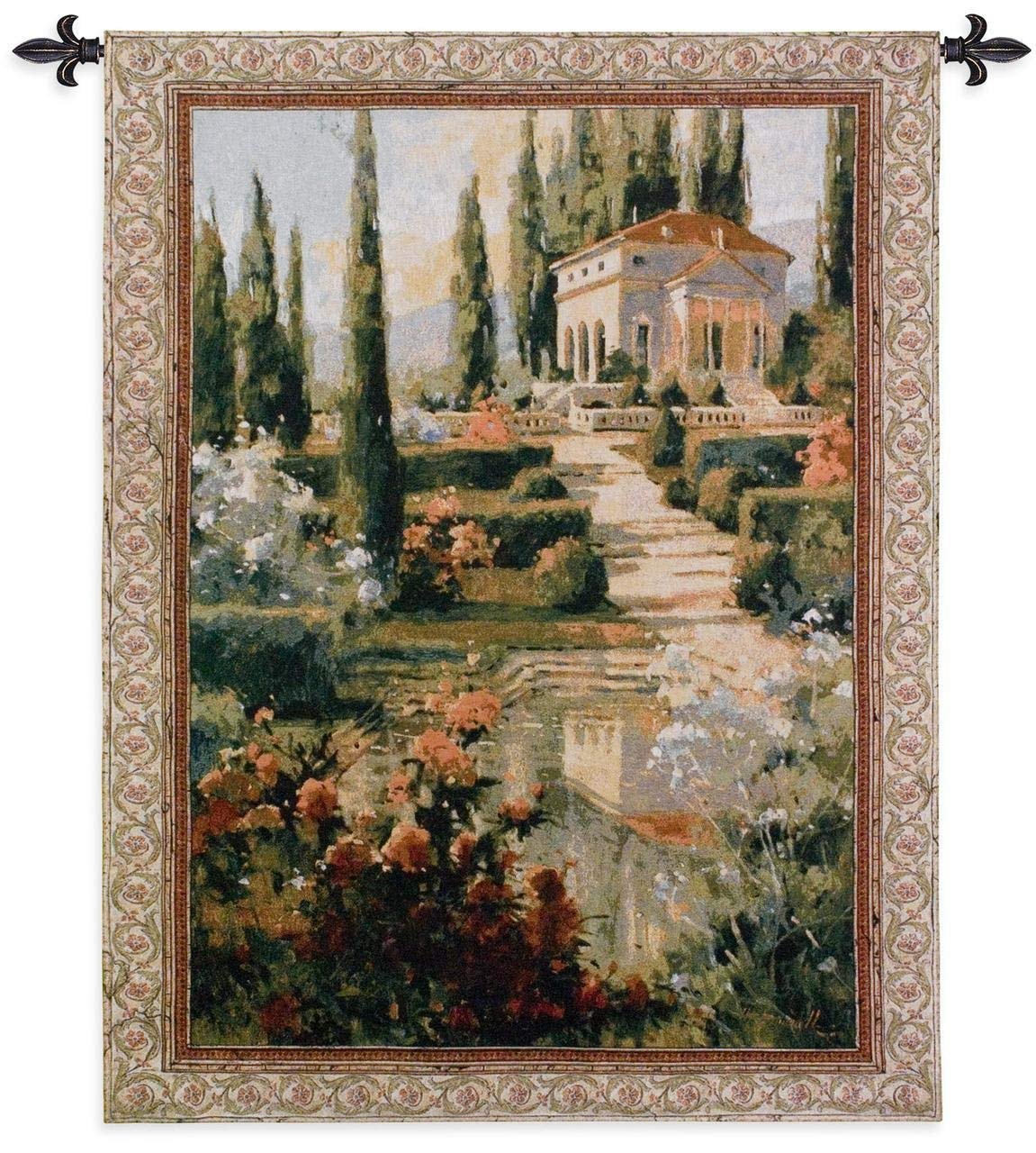 Fine Art Tapestries ''Tuscany Estate'' Wall Tapestry