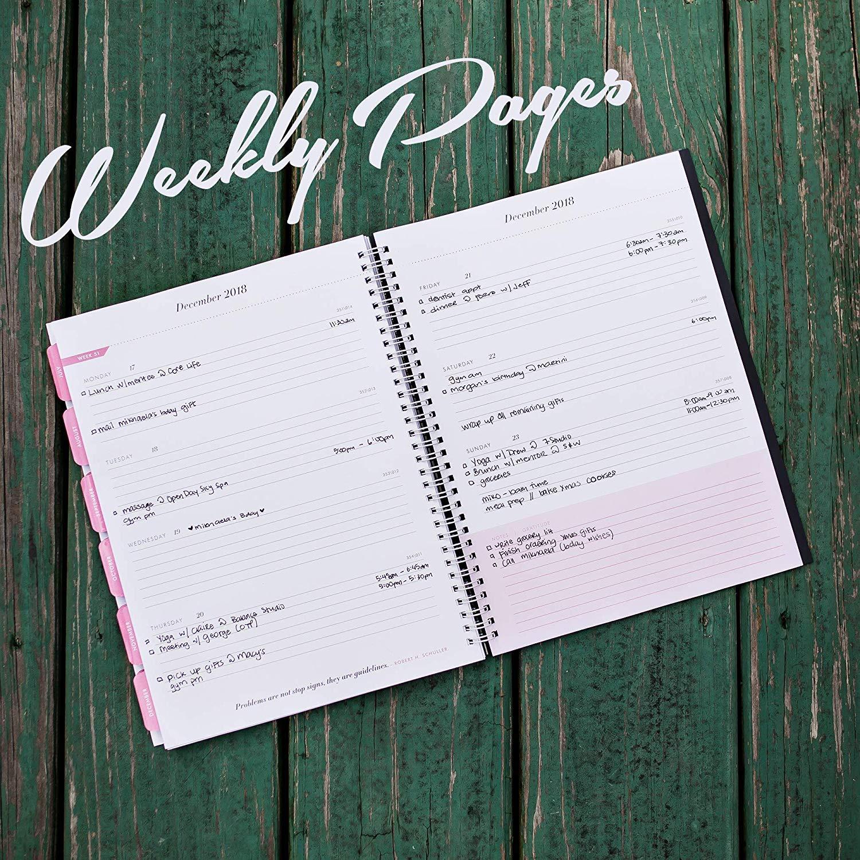 Planificador 2018-2019 mensual semanal académico ...
